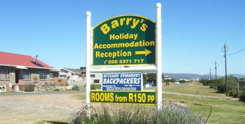 Barry's Accommodation